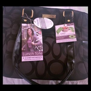 Zaza Lunch Tote with Leak Proof Food Container